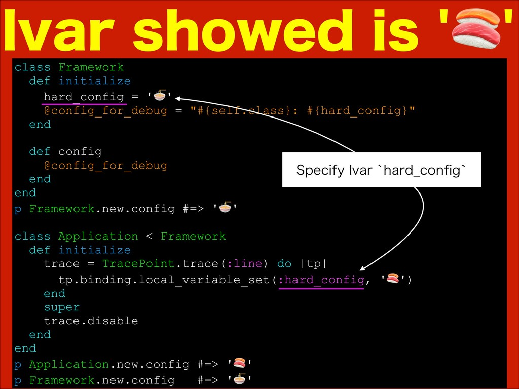 MWBSTIPXFEJT class Framework def initializ...