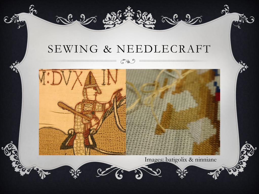 SEWING & NEEDLECRAFT Images: batigolix & ninnia...