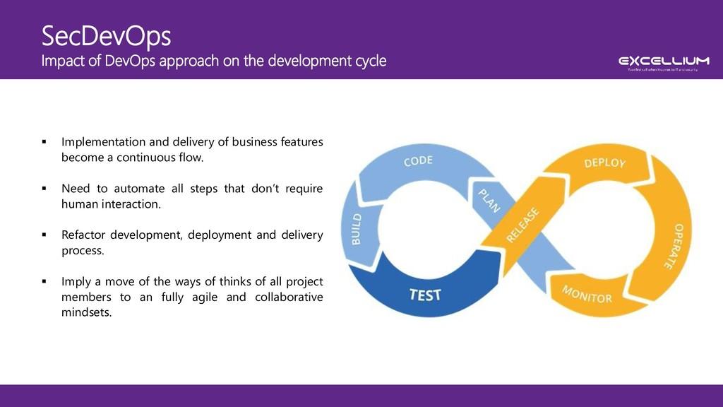 SecDevOps Impact of DevOps approach on the deve...