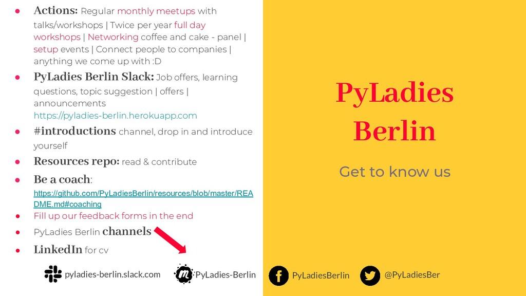@PyLadiesBer PyLadiesBerlin PyLadies-Berlin pyl...