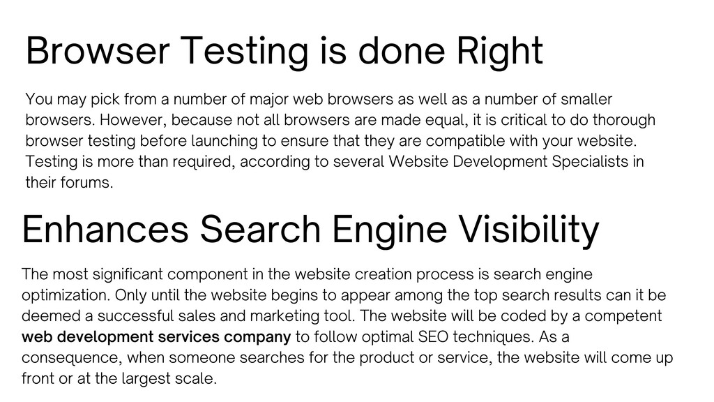 Browser Testing is done Right You may pick from...