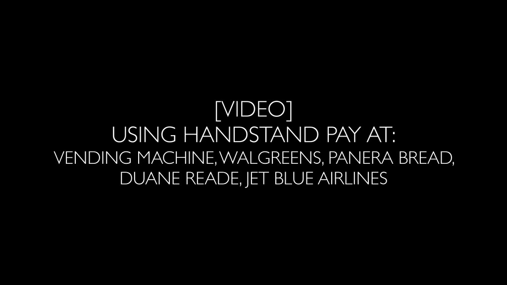 [VIDEO] HCE IN ACTION • Vending Machine • Walgr...