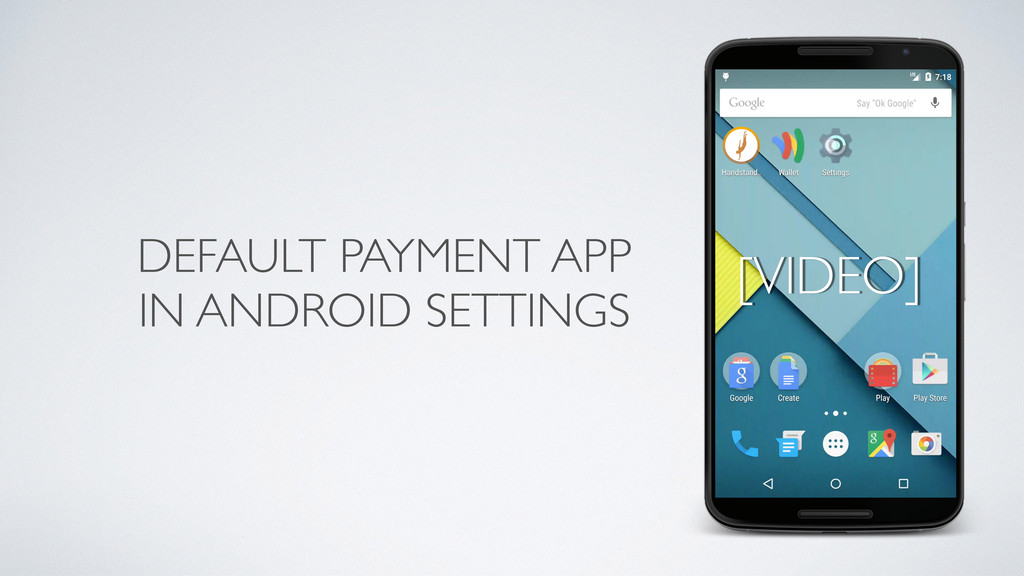 DEFAULT PAYMENT APP IN ANDROID SETTINGS [VIDEO]
