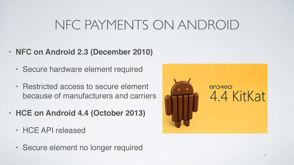 NFC PAYMENTS ON ANDROID • NFC on Android 2.3 (D...