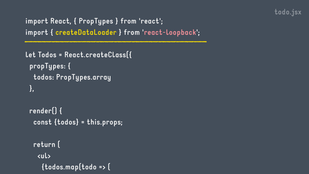 import React, { PropTypes } from 'react'; impor...