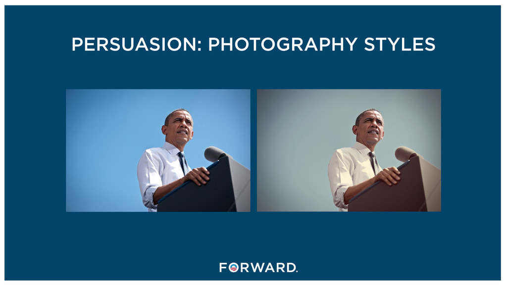 PERSUASION: PHOTOGRAPHY STYLES