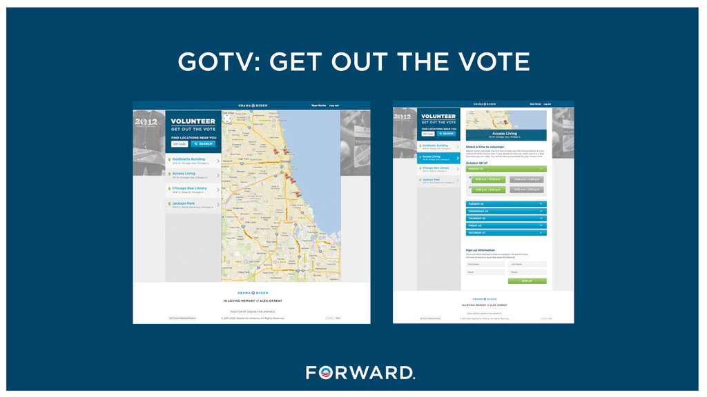 GOTV: GET OUT THE VOTE
