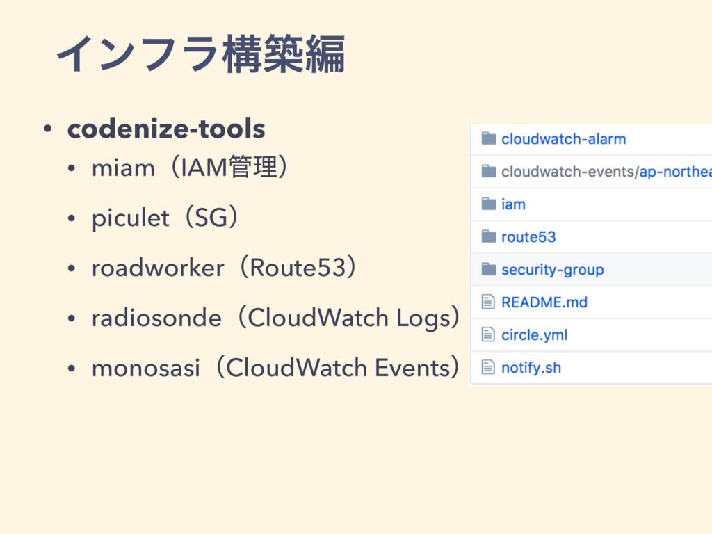 Πϯϑϥߏஙฤ • codenize-tools • miamʢIAMཧʣ • picule...