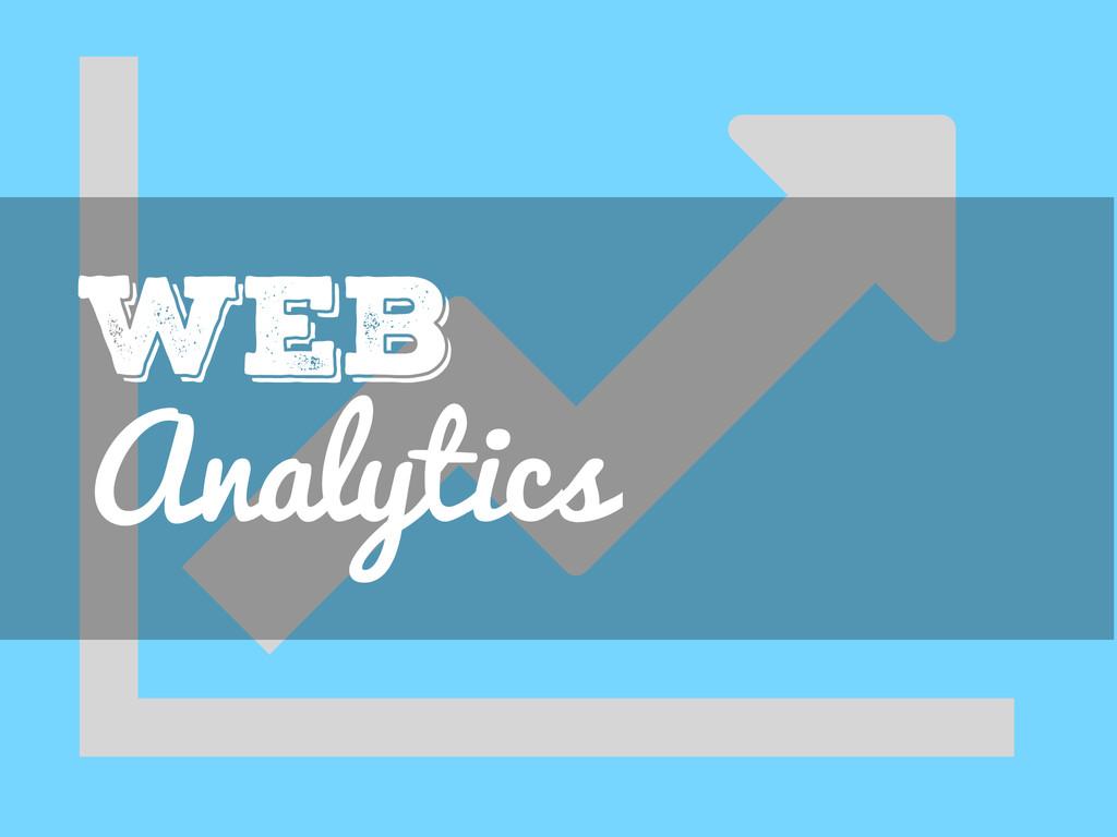 ǡ Analytics Web