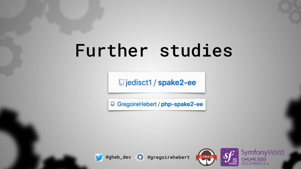 @gheb_dev @gregoirehebert Further studies