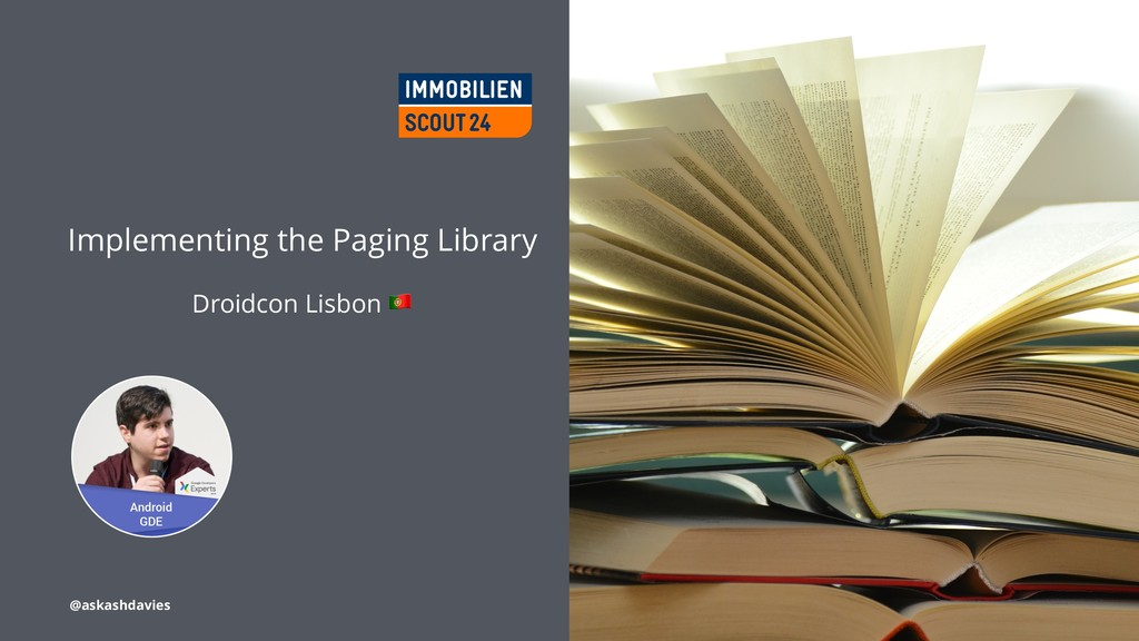 Implementing the Paging Library Droidcon Lisbon...