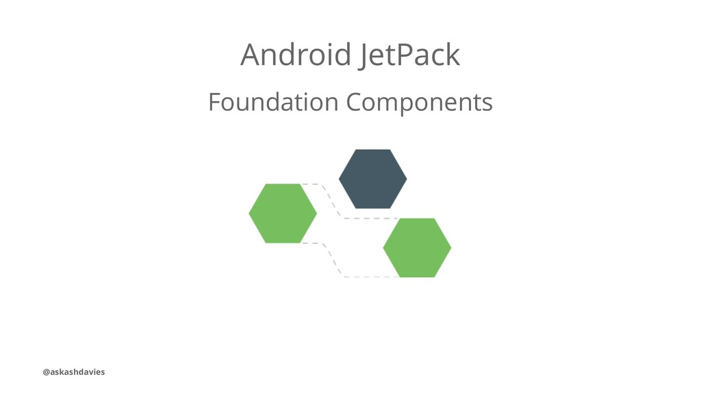 Android JetPack Foundation Components @askashda...