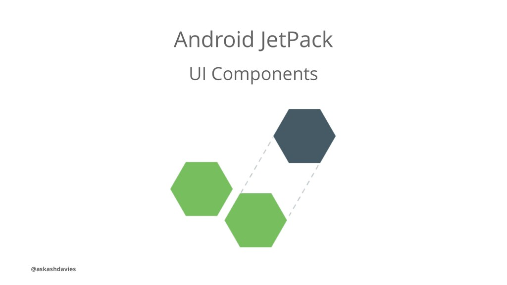 Android JetPack UI Components @askashdavies