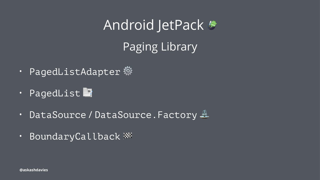 Android JetPack Paging Library • PagedListAdapt...
