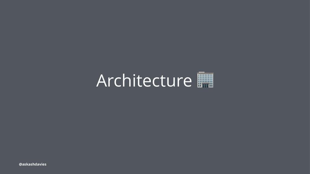 Architecture @askashdavies