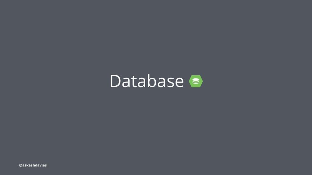 Database @askashdavies