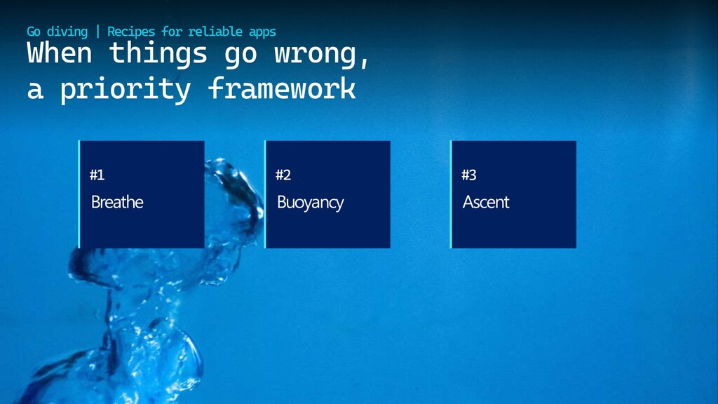 @cmaneu When things go wrong, a priority framew...