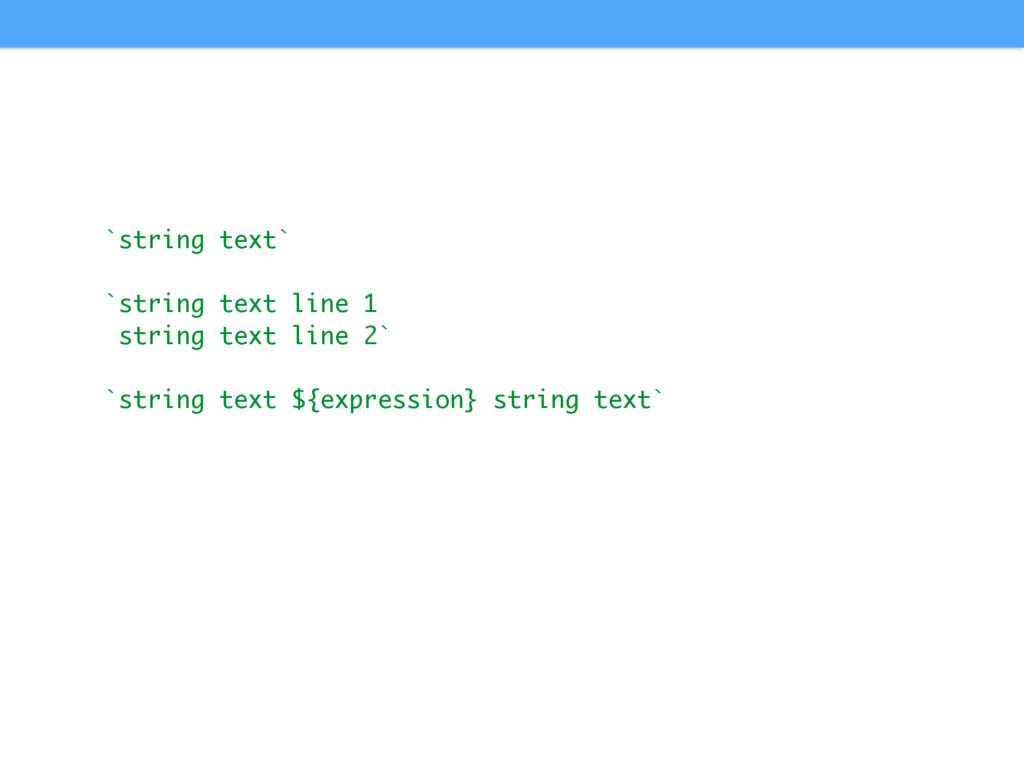 `string text` `string text line 1 string text l...