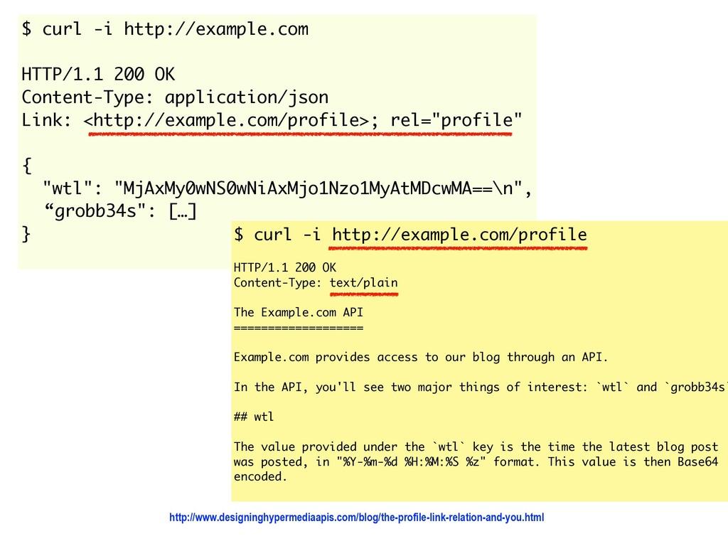 $ curl -i http://example.com  HTTP/1.1 200 OK ...