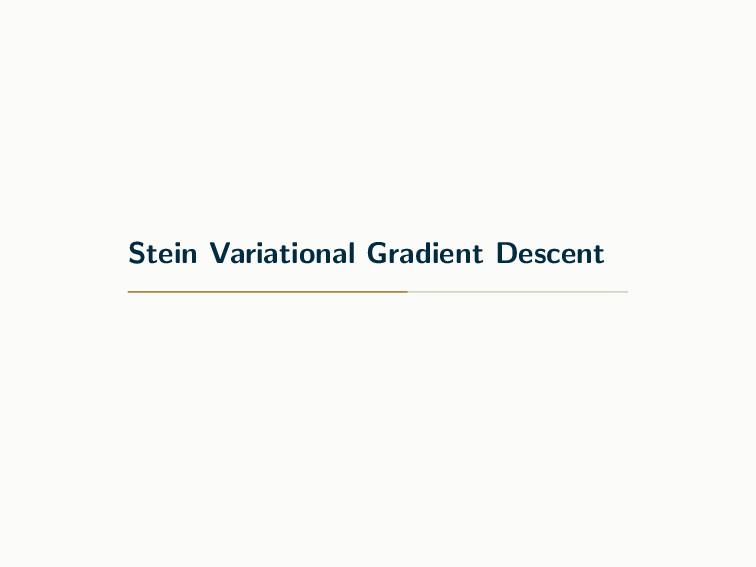 Stein Variational Gradient Descent