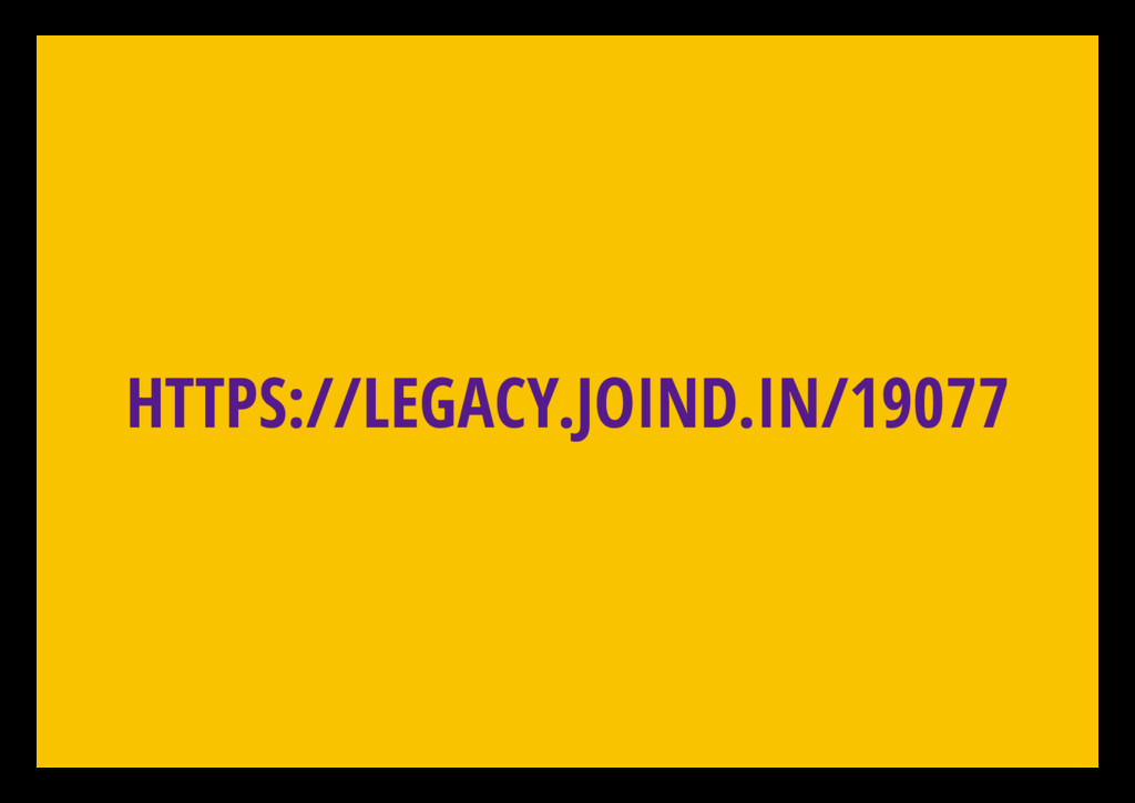 HTTPS://LEGACY.JOIND.IN/19077