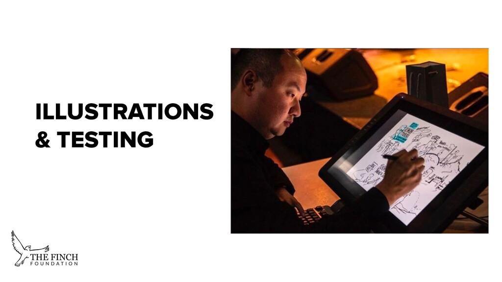 ILLUSTRATIONS & TESTING