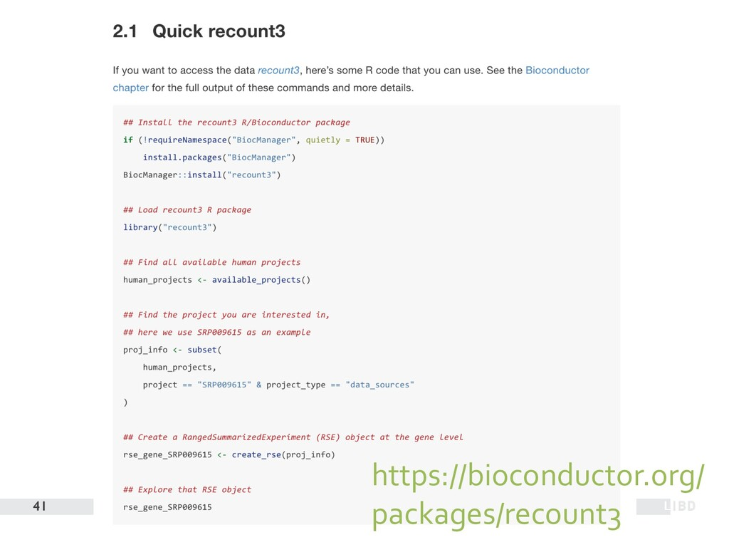 41 https://bioconductor.org/ packages/recount3