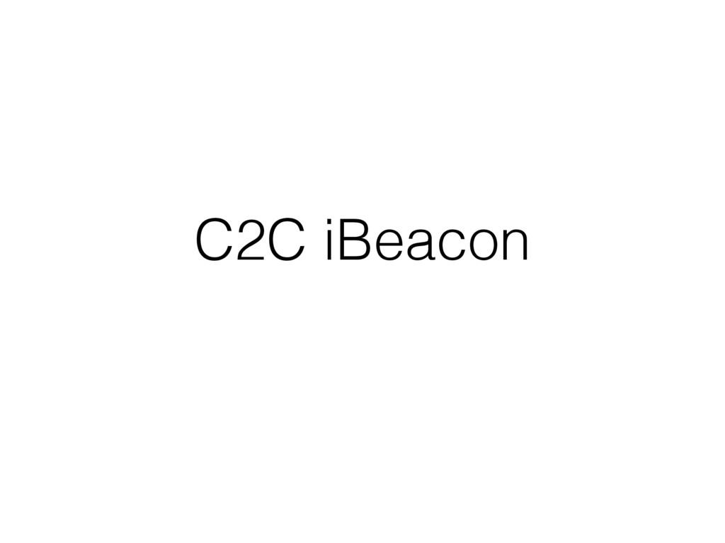 C2C iBeacon