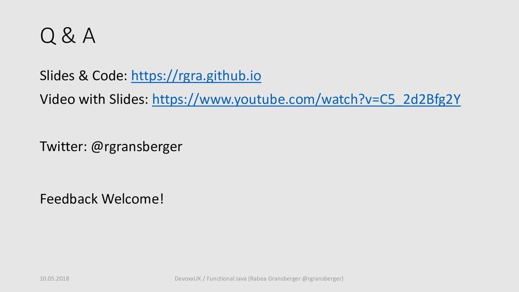 Q & A Slides & Code: https://rgra.github.io Vid...