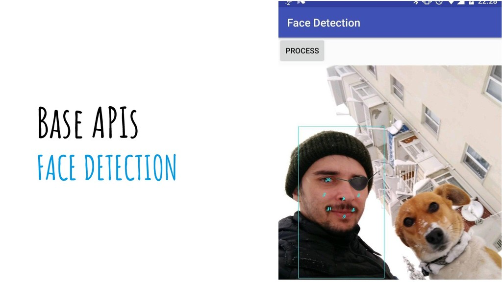 Base APIs FACE DETECTION