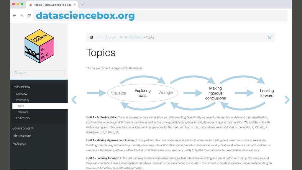 datasciencebox.org