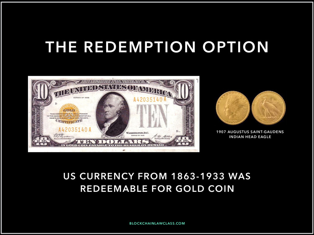 BLOCKCHAINLAWCLASS.COM US CURRENCY FROM 1863-19...