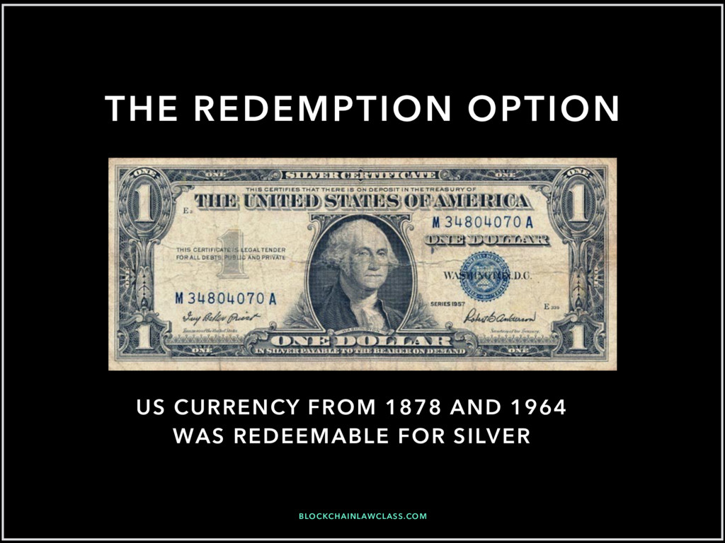 BLOCKCHAINLAWCLASS.COM US CURRENCY FROM 1878 AN...