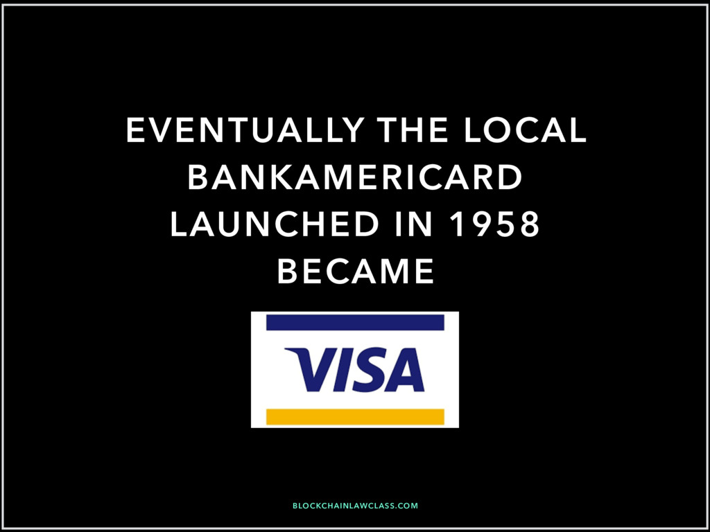 EVENTUALLY THE LOCAL BANKAMERICARD LAUNCHED IN ...