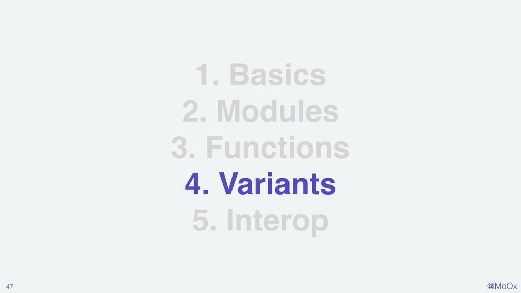 @MoOx 1. Basics 2. Modules 3. Functions 4. Vari...