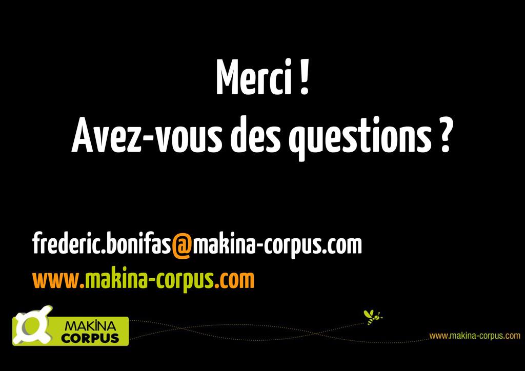 frederic.bonifas@makina-corpus.com www.makina-c...