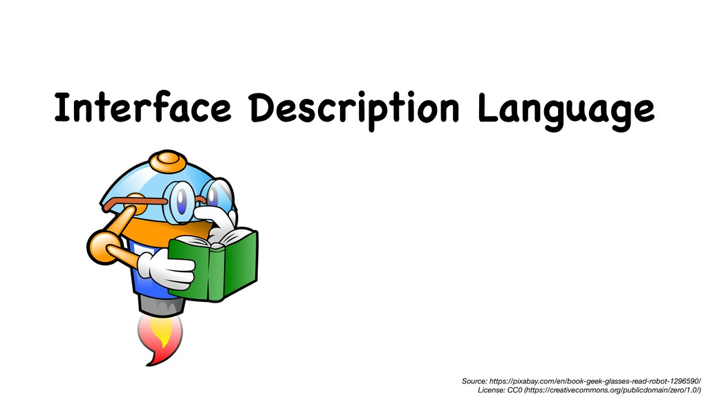 Interface Description Language Source: https://...