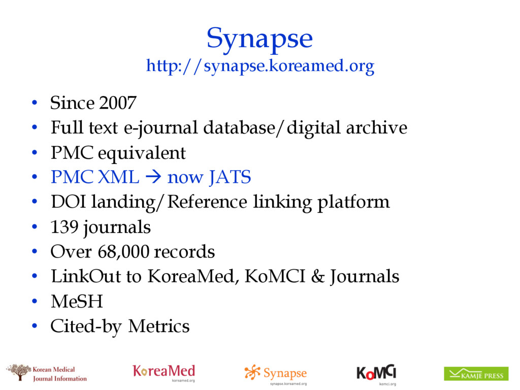 Synapse http://synapse.koreamed.org • Since 200...