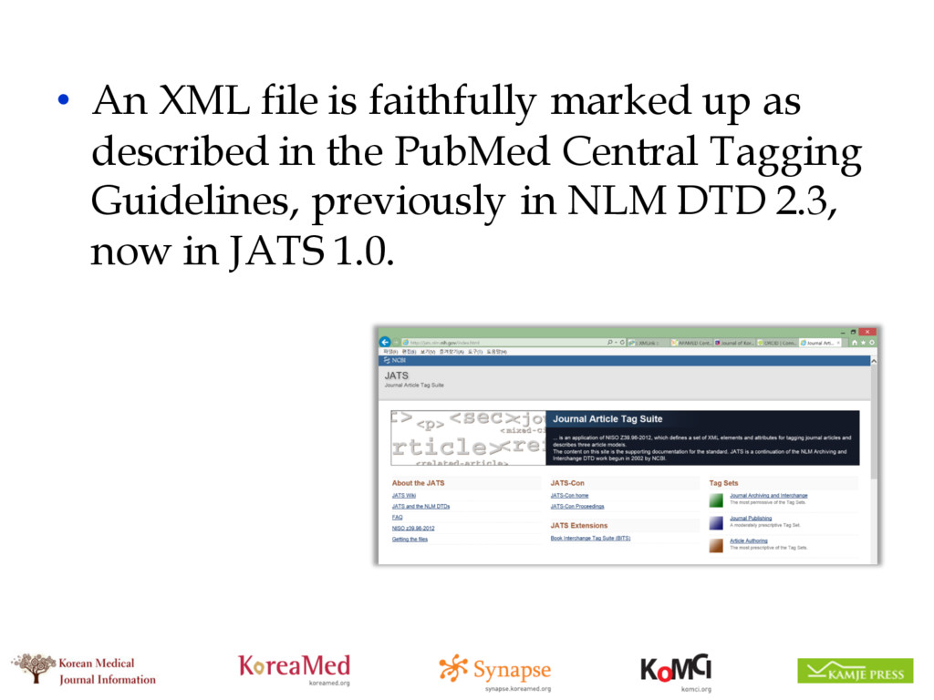 • An XML file is faithfully marked up as descri...