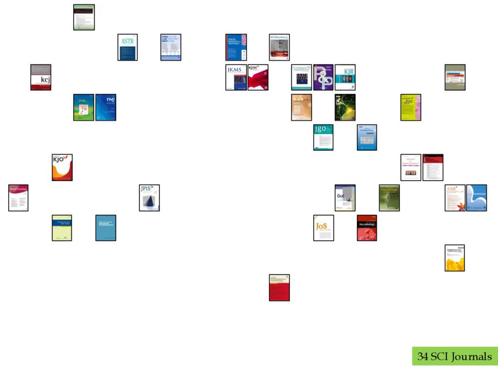 34 SCI Journals
