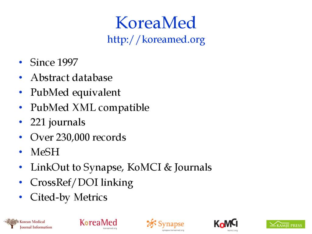 KoreaMed http://koreamed.org • Since 1997 • Abs...