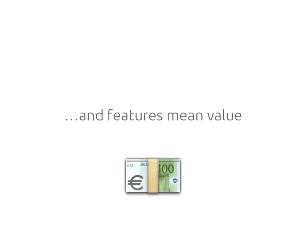…and features mean value