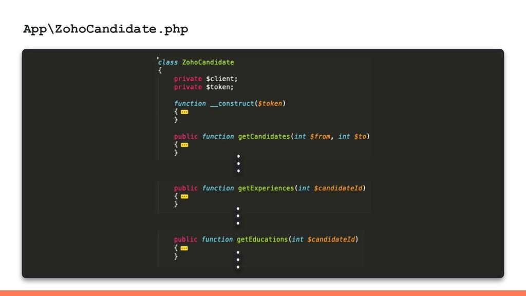 App\ZohoCandidate.php