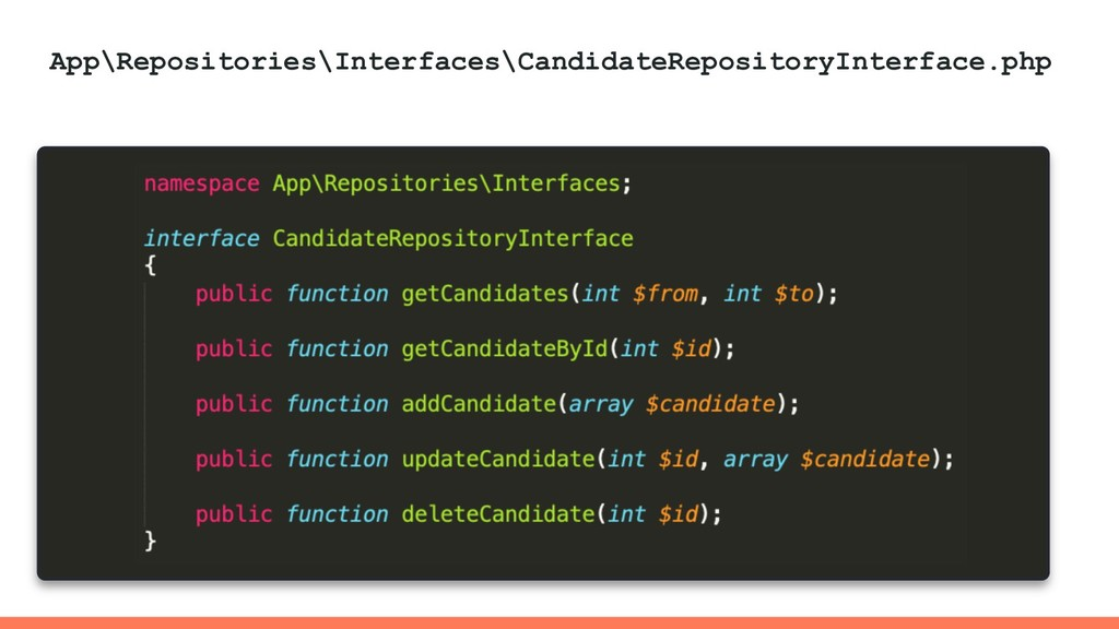 App\Repositories\Interfaces\CandidateRepository...