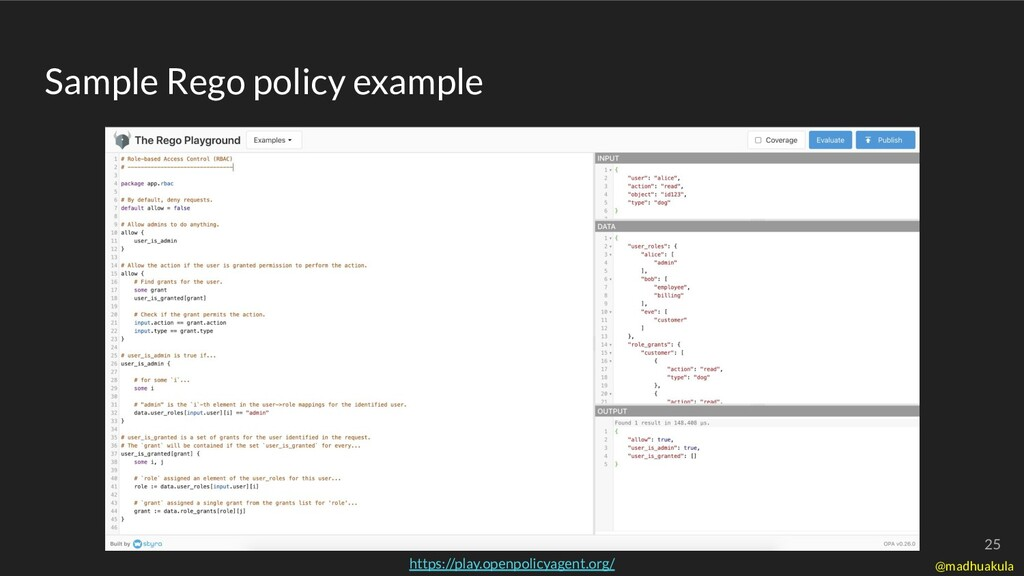 Sample Rego policy example https://play.openpol...