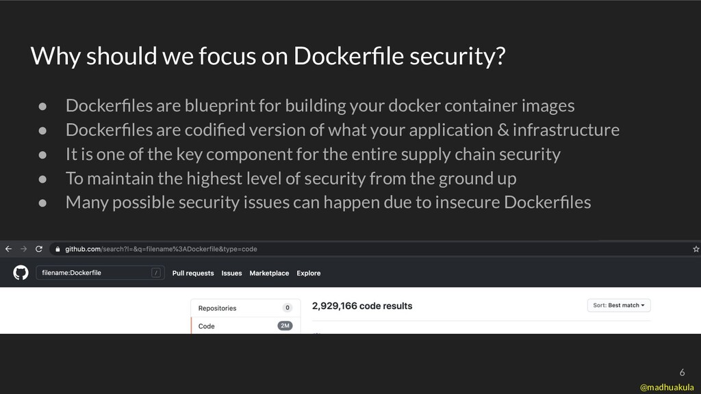 ● Dockerfiles are blueprint for building your do...
