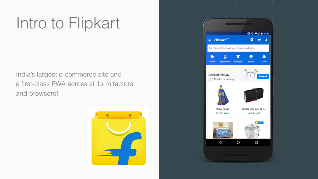 Intro to Flipkart India's largest e-commerce si...