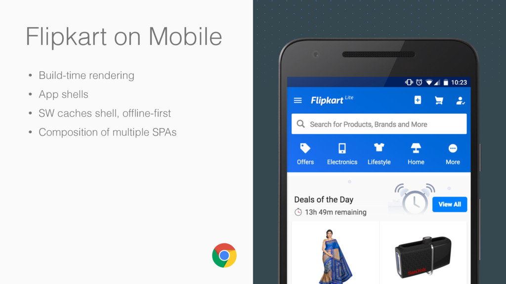 Flipkart on Mobile • Build-time rendering • App...