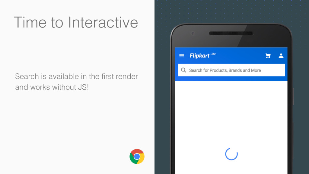 Time to Interactive Search is available in the ...