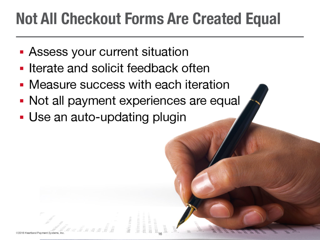 Not All Checkout Forms Are Created Equal § Asse...